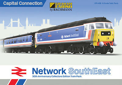Graham Farish 370-430 Capital Connection NSE 30th Anniversary Train Pack