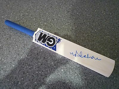 Mini GM (Gunn & Moore) Cricket Bat signed by England legend Michael Vaughan OBE