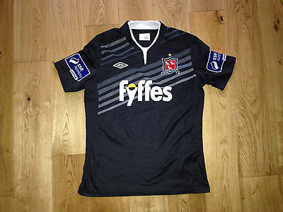 Dundalk FC Ireland Away Player Issue Jersey Shirt Umbro Adult M