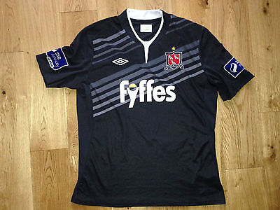 Dundalk FC Ireland Away Player Issue Jersey Shirt Umbro Adult XL