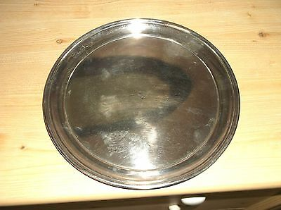 Elkington & Co Silver Plated Round Tray 25cm IPH