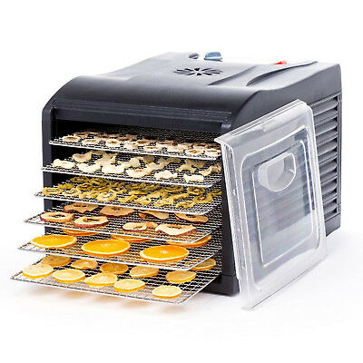 SVT 6 Tray Dehydrator - with 6 Stainless Steel Shelves