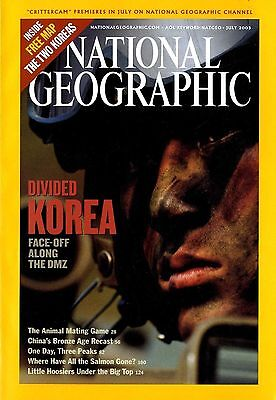 NATIONAL GEOGRAPHIC - 2003 July - Divided Korea