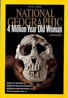 NATIONAL GEOGRAPHIC - 2010 July - 4 Million Year Old Woman