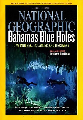 NATIONAL GEOGRAPHIC - 2010 August - Bahamas Blue Holes