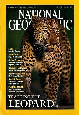 NATIONAL GEOGRAPHIC - 2001 October - Tracking the Leopard