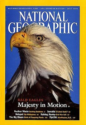 NATIONAL GEOGRAPHIC - 2002 July - Bald Eagles