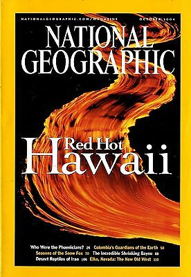 NATIONAL GEOGRAPHIC - 2004 October - Red Hot Hawaii