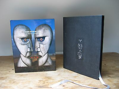 PINK FLOYD Mind Over Matter 1st UK PRESS AUTOGRAPHED by Storm Thorgerson RARE