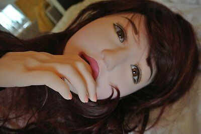 Poupée gonflable realiste suceuse semi silicone oral sex doll love real