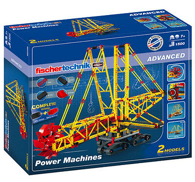 Fischertechnik 520398 - ADVANCED Power Machines | Baukasten