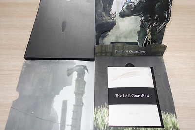 THE LAST GUARDIAN - L'ULTIMO GUARDIANO PRESS KIT new nuovo ps4