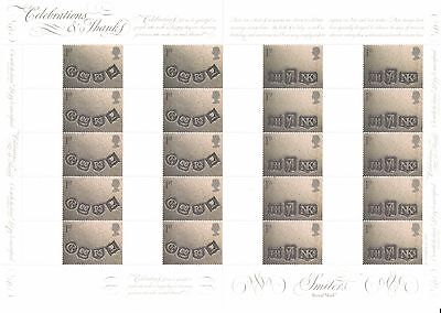 CS-004a 2001 Celebrations & Thanks Customised Smilers Sheet with Blank Labels
