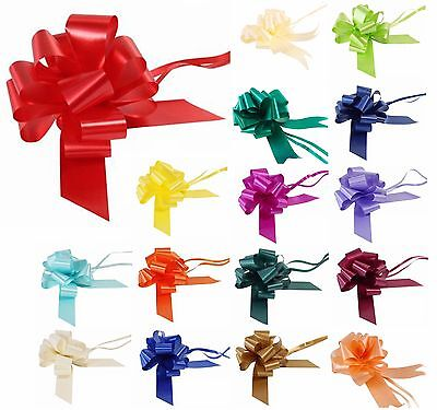 Pull Bows 30mm Ribbon Wedding Car Florist Small Xmas Christmas Present Gift Wrap