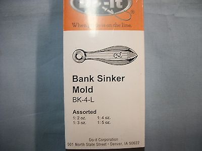 Do-It Bank Sinker Mold