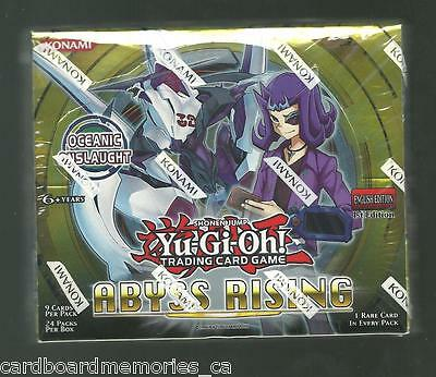 Yu-gi-oh! Yugioh Abyss Rising Factory Sealed 1st Edition Booster Box