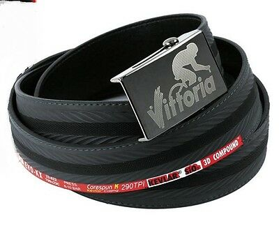 Vittoria Recycled CX Corsa Bicycle Tyre Belt - hold up your strides after rides!