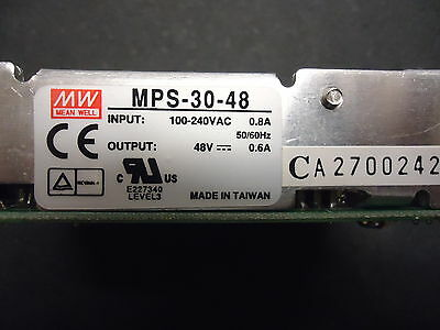 MPS-30-48 Meanwell 30 Watt single output Medical BRAND NEW!