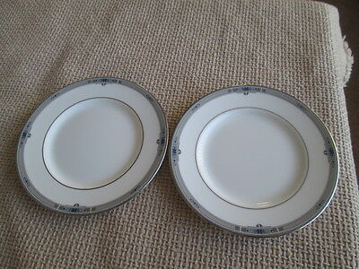 "SET OF 2 WEDGWOOD AMHERST TEA / SIDE PLATES 6"" WIDE  1st QUALITY"