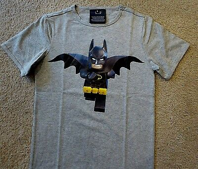 The Lego Batman Movie T-Shirt Batman Child Lg  New Authentic Studio Movie Promo