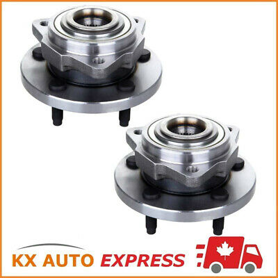 2x FRONT WHEEL BEARING HUB ASSEMBLY FOR JEEP GRAND CHEROKEE 2008 2009 2010 w/ABS