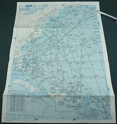Carte Aeronautique - Mer Des Sargasses / Sargasso Sea - 58C - Aviation - Rare