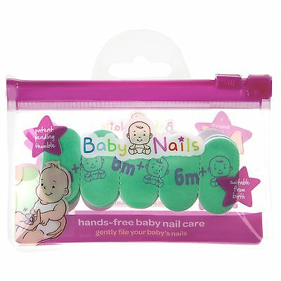 Baby Nails Replacement Pack (6 Months+) Hands-Free Nailfiles