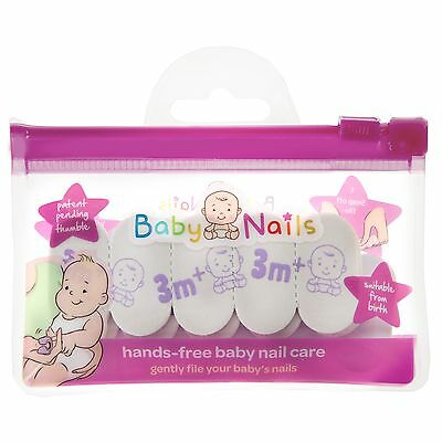 Baby Nails Replacement Pack (3 Months+) Hands-Free Nailfiles
