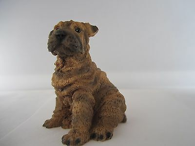 """Shar Pei small dog figure Castagna hand made in Italy new approx. 2.5"""""""