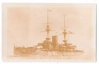 Early Post Card, Ships, H M S  Majestic,   RP