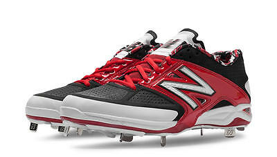 New Balance 4040 Metal Low Cut L4040BR2 Baseball Cleats(Red/Black)