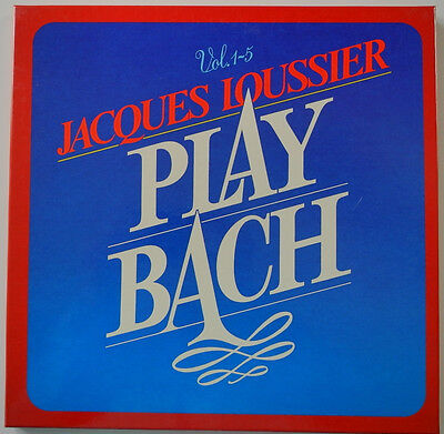 ★★5 x LP BOX DE**JACQUES LOUSSIER - PLAY BACH (DECCA '78)★★19771