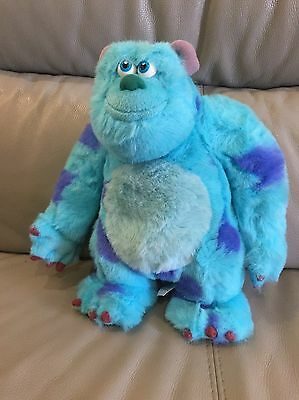 Disney Monsters Inc Talking Sulley Teddy Plush Soft Toy