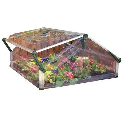 Mini Garden Greenhouse Cold Frame Double 3 ft. 6 in. x 3 ft. 5 in.