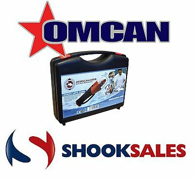 OMCAN 36521 Commercial Restaurant ELECTRIC FISH SCALER, SHARPENING STONE NY