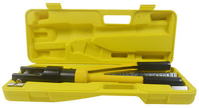 12 Ton Hydraulic Wire Battery Cable Lug Terminal Crimper Crimping Cable Tools