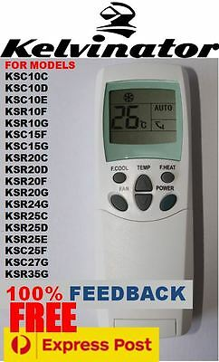 Kelvinator Air Con Conditioner Remote Control 6711A20012M