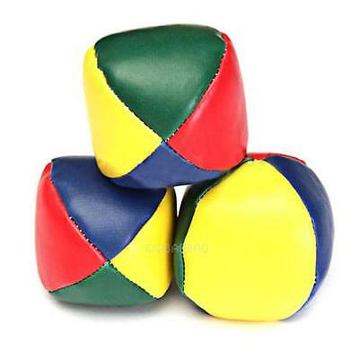 1PCS Juggling Balls Classic Bean Bag Juggle Magic Circus Beginner Kids Toy