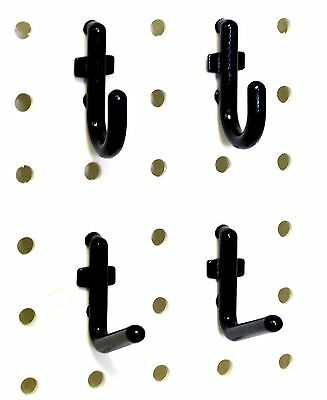 Wall Peg Hook Kit - 100 Pegboard Hooks Tool Storage Garage Organizer Choice B...