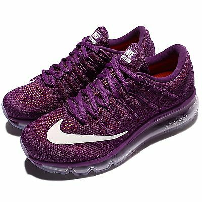 Wmns Nike Air Max 2016 Bright Grape Women Running Shoes Sneakers 806772-504