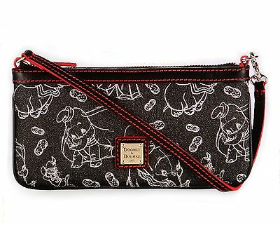 Disney Dooney & Bourke Dumbo 75th Anniversary Wristlet Purse Bag - Sold Out NWT