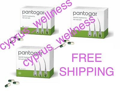 Pantogar Pantovigar Capsules for Hair Loss and Nails 270Capsules cyprus_wellness