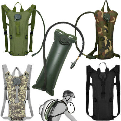 NEW 3L Water Bladder Bag Hydration Backpack Pack Hiking Camping Cycling Outdoor