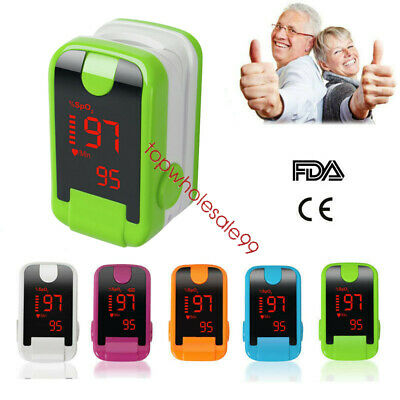 NEW Alarm function OLED Finger Pulse Oximeter Blood Oxygen Tester SpO2 Monitor