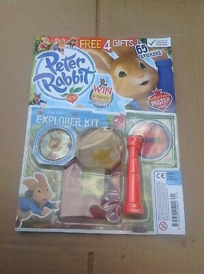 New Issue Of Peter Rabbit Magazine With Free Gift Issue 1