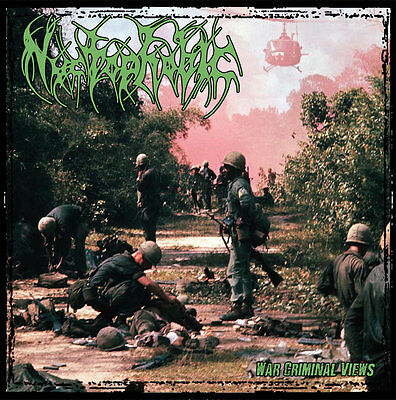 Nyctophobic War Criminal Views Lp Colored Limited New Grindcore Napalm Death