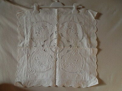 2 Housse de coussin / taie oreiller ancienne broderies