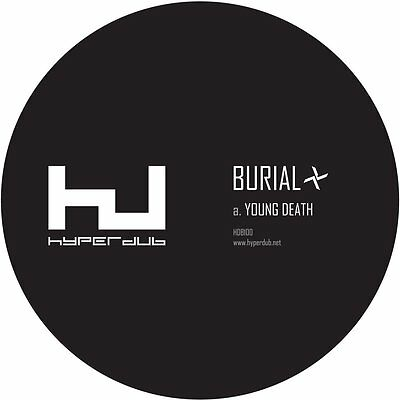 "Burial - Young Death / Nightmarket (HDB100) - 12"" Vinyl *NEW & SEALED*"