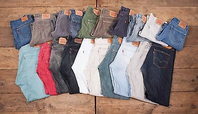 20 x Pairs Mens Womens Wholesale Vintage Levis Levi 501 GRADE A JEANS Job Lot L5