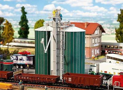 New Faller 120260 Twin Silos Ho Scale (1:87) Factory Sealed